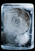 Extreme hard drive cooling — Stock Photo