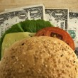 Royalty-Free Stock Photo: Dollar Burger