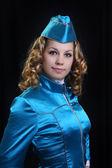 Mädchen in uniform — Stockfoto