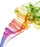 Abstract colorful smoke — Stock Photo