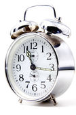 Crome alarm clock — Stock Photo