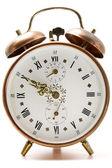 Cooper alarm clock — Stock Photo