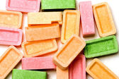 Candy colored tablets — Stock Photo