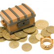 Pirate chest — Stock Photo #3413605