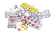 Tabletki i kapsułki — Zdjęcie stockowe