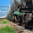 Stock Photo: Transports tanks with oil