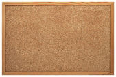 Blank Cork board — Stock Photo