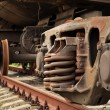 Damping suspension freight train — Stock Photo #3852301