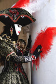 Image was taken in Venice during Carnival — Stock Photo