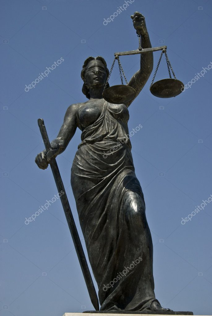 Image of lady justice   Stock Photo #3446459