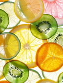 Tranches de citrons — Photo