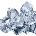 blokken van ijs — Stockfoto