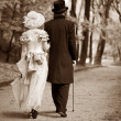 Gentleman & lady — Stockfoto