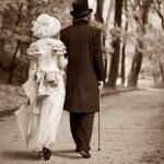 Gentleman & lady — Foto de Stock