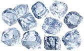 Cubo di ghiaccio — Foto Stock