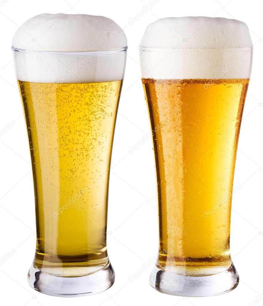 Light beer — Stock Photo #3412129