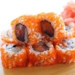Sushi rolls — Stock Photo #3434170