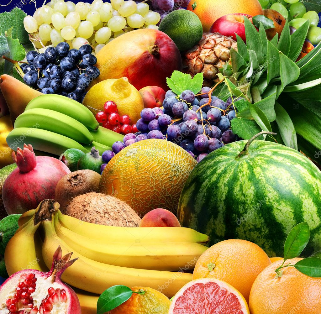 Fruits  Stock Photo #3434099