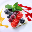 Fruit dessert - Stock Photo
