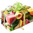 Stock Photo: Fruit gift