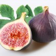 Figs on a white - Stock fotografie
