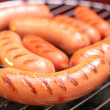 Foto Stock: Sausages