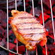 Royalty-Free Stock Photo: Steak on a grill