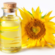 Bottle of sunflower oil — Stock Photo #3606109