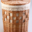 Stock Photo: Basket for wattled