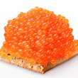 Red caviar - Foto Stock
