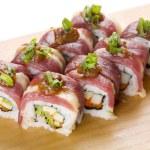 Sushi rolls — Stock Photo #3608852