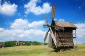 Old windmills — Stock Photo