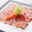Raw salmon — Stock fotografie