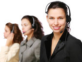 Customer support team during work. — Stock Photo