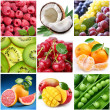 "Stock Photo: Collection of images on the theme of ""fruits"""