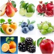 "Collection of images on the theme of ""fruits"" — Stock Photo #3626142"
