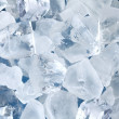 Background in the form of ice cubes — Stock Photo