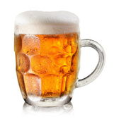 Glass of beer. — Stock Photo