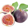 Fruits figs on white background — Stock Photo #3657884