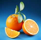Ripe orange. — Stock Photo