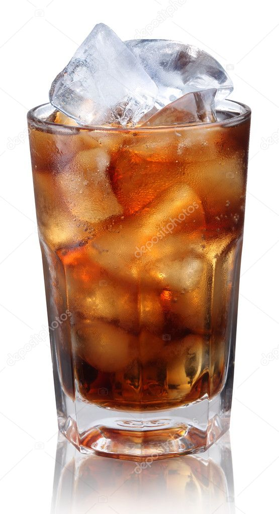 Steamed glass with cold cola  — Stock Photo #3751399