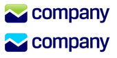 株式市場の矢印のロゴ — ストックベクタ