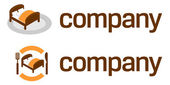 Yat turizm acenteleri için logo — Stok Vektör