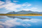Ryska, primorye, blå reflektion — Stockfoto