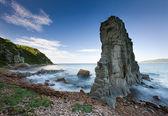 Russian, Primorye, beautiful sea rock — Stock Photo