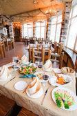 Maritime menü — Stockfoto