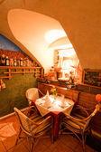 Romantische cafetaria 's — Stockfoto
