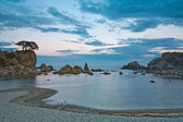 Mystical evening at sea — Foto de Stock