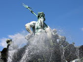 Neptune Fountain in Berlin — Stock Photo