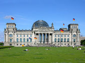 柏林国会大厦 — 图库照片